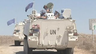 Syria: UN says 43 Golan Heights peacekeepers are seized by militants