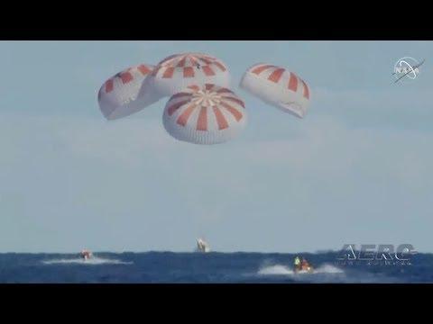 Airborne 03 11 19: SpaceX Crew Dragon, Austro AE300, Airbus New H145