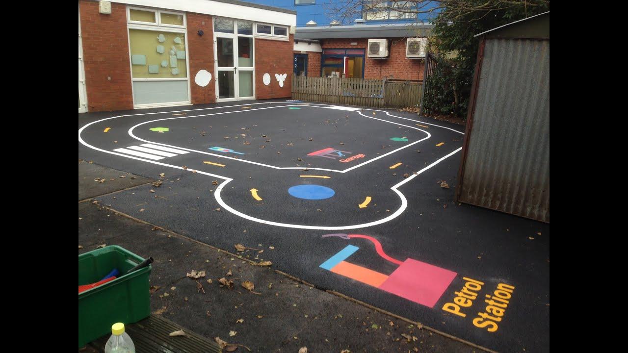Playground Road Track - YouTube