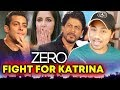 ZERO Movie : Salman Khan And Shahrukh To FIGHT For Katrina Kaif In A SONG
