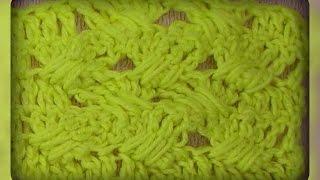 узор плетенка , вязание крючком