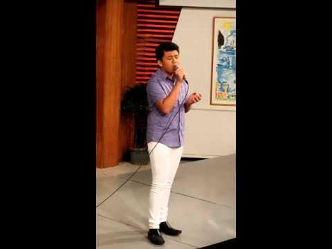 Josh Yape live.....  @ Good Morning BOSS at PTV4 .....
