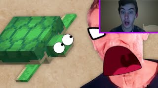"""""""They Hate Turtles!"""" Reacting To Game Theory: The Tragedy Of Minecraft's Sunken Tomb"""