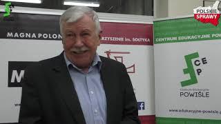 """""""Wprowadzenie do ekonomii narodowej"""" - Prof. Artur Śliwiński"""