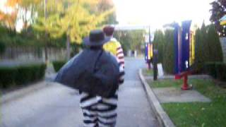 ronald mcdonald and the hamburglar vs the burger king