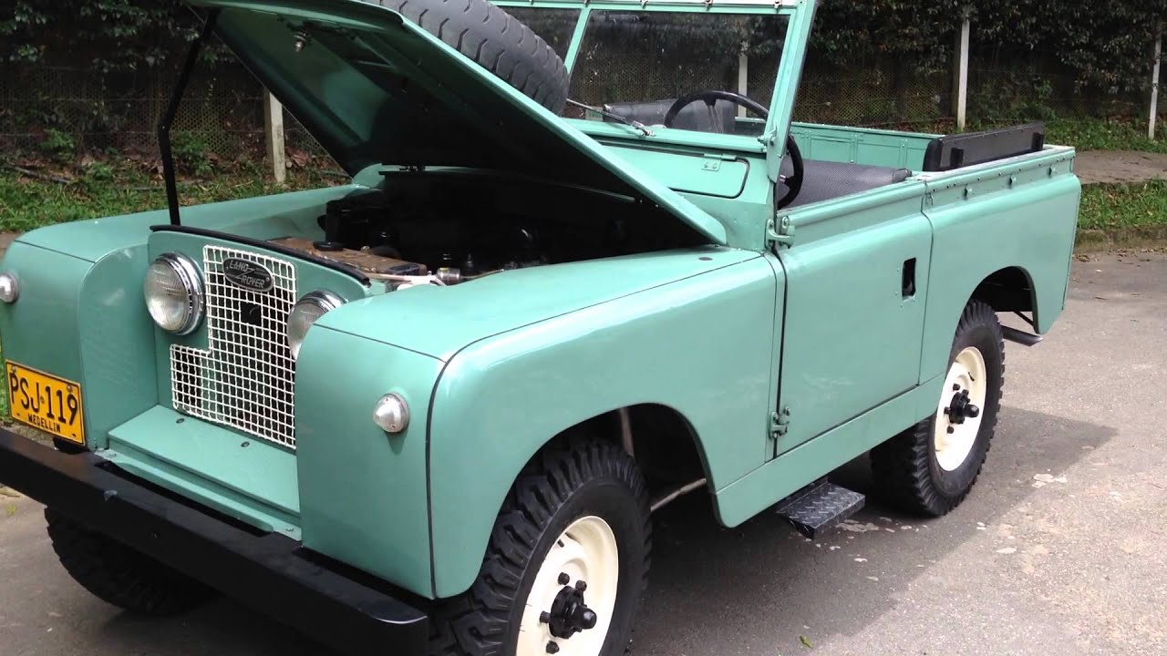 Volcan 4x4 1960 Land Rover Alfie Engine Bay - YouTube