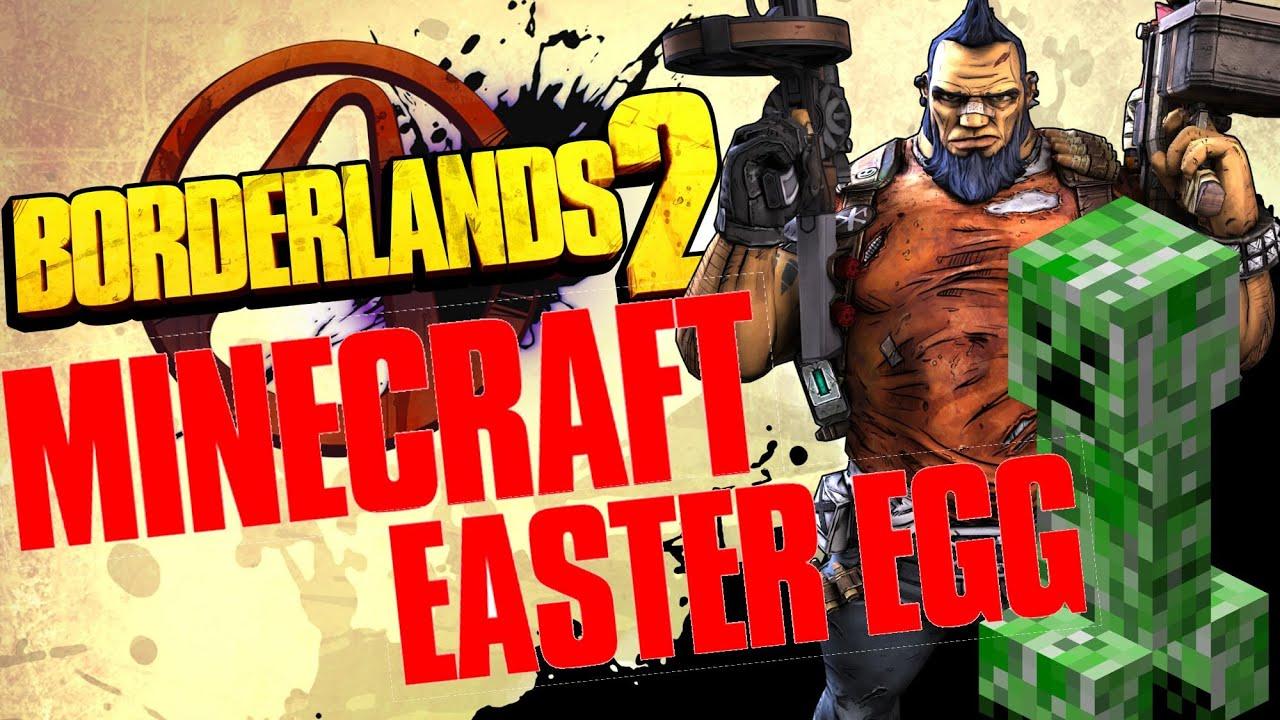 Easter Weapon Borderlands 2 Minecraft Egg