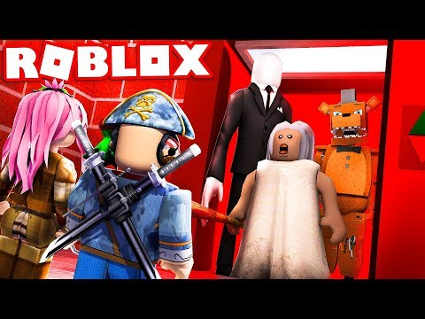 L'ASCENSORE DEI SUPER CATTIVI DI ROBLOX!! (Scary Elevator)