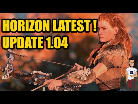 Horizon Zero Dawn Update 1.04 - ALL DETAILS!  - with gameplay and full details