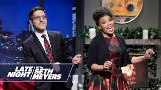 "Seth Meyers Presents Late Night's ""Baby, It's Cold Outside 2018"""