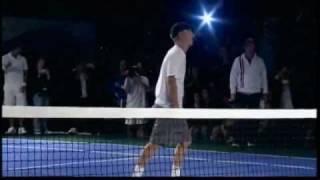 Tennis Stars Team Up With Celebrities