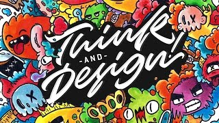 GRAFFITI DOODLES !! | Collaboration Ste Bradbury Design