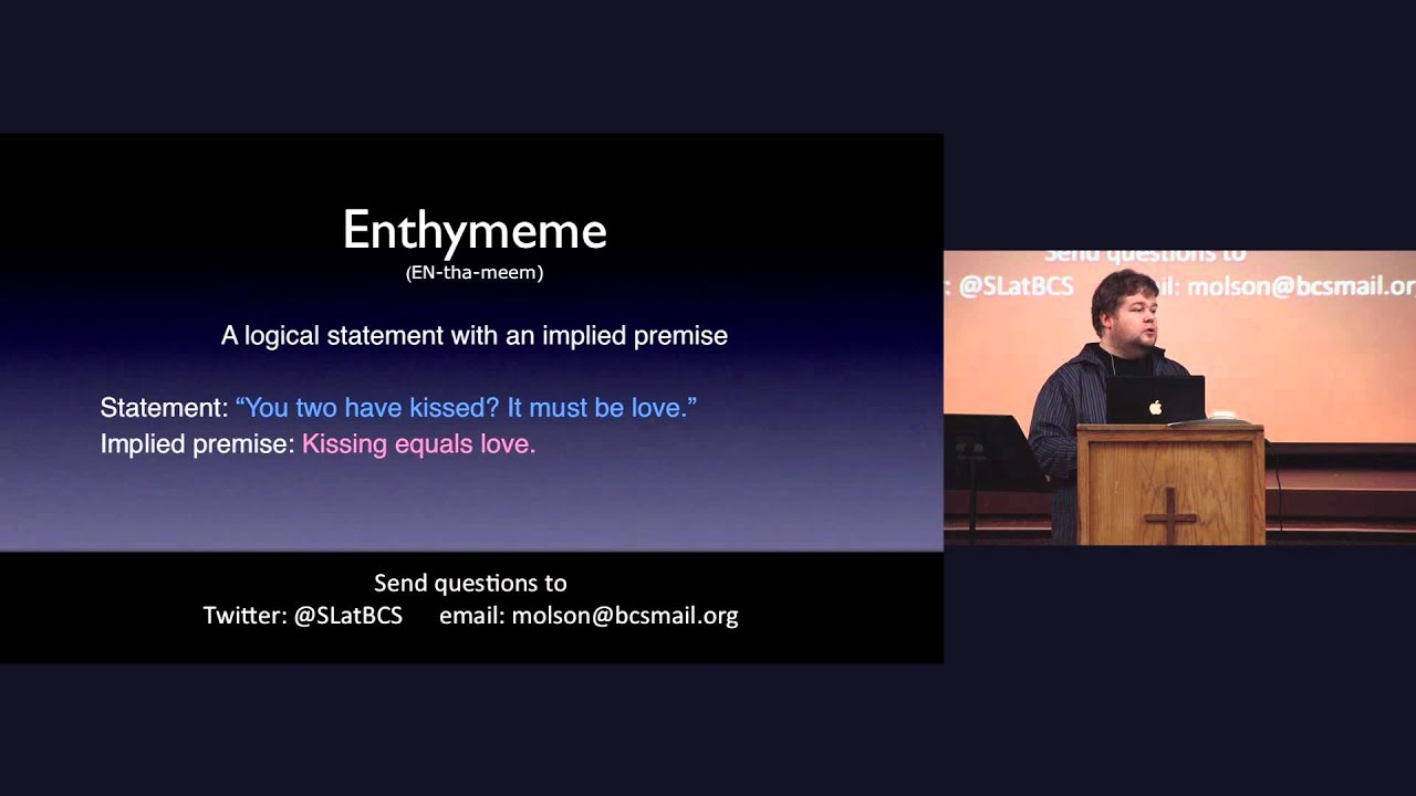 what is an enthymeme thesis