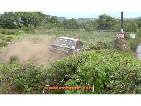 Joule Donegal International Rally 2018 ( Flyin Finn Motorsport) Irish Action