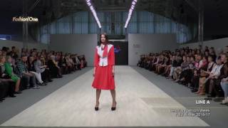 Показ    LINE A, Belarus Fashion Week, Осень Зима  2016 17