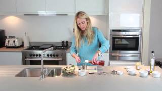 Ashfab Nutrition - Kale And Pomegranate Salad