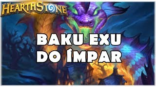 HEARTHSTONE - BAKU EXU DO ÍMPAR! (STANDARD ODD AGGRO HUNTER)