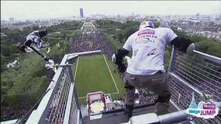 Golden Challenges Taïg Khris Défi Taïg Saut Tour Eiffel Record du Monde Officiel