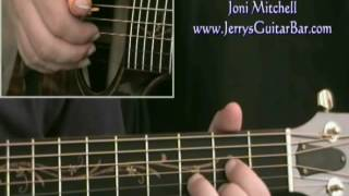 How To Play Joni Mitchell My Old Man (intro only)