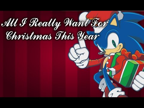 .:Sonic & Friends sing All I Really Want For Christmas This Year:.