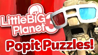 LittleBigPlanet 3 - Popit Puzzles! (Popit Cursor) - Learning With Zebra