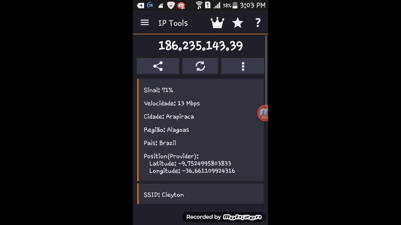 como localizar celular roubado pelo ip