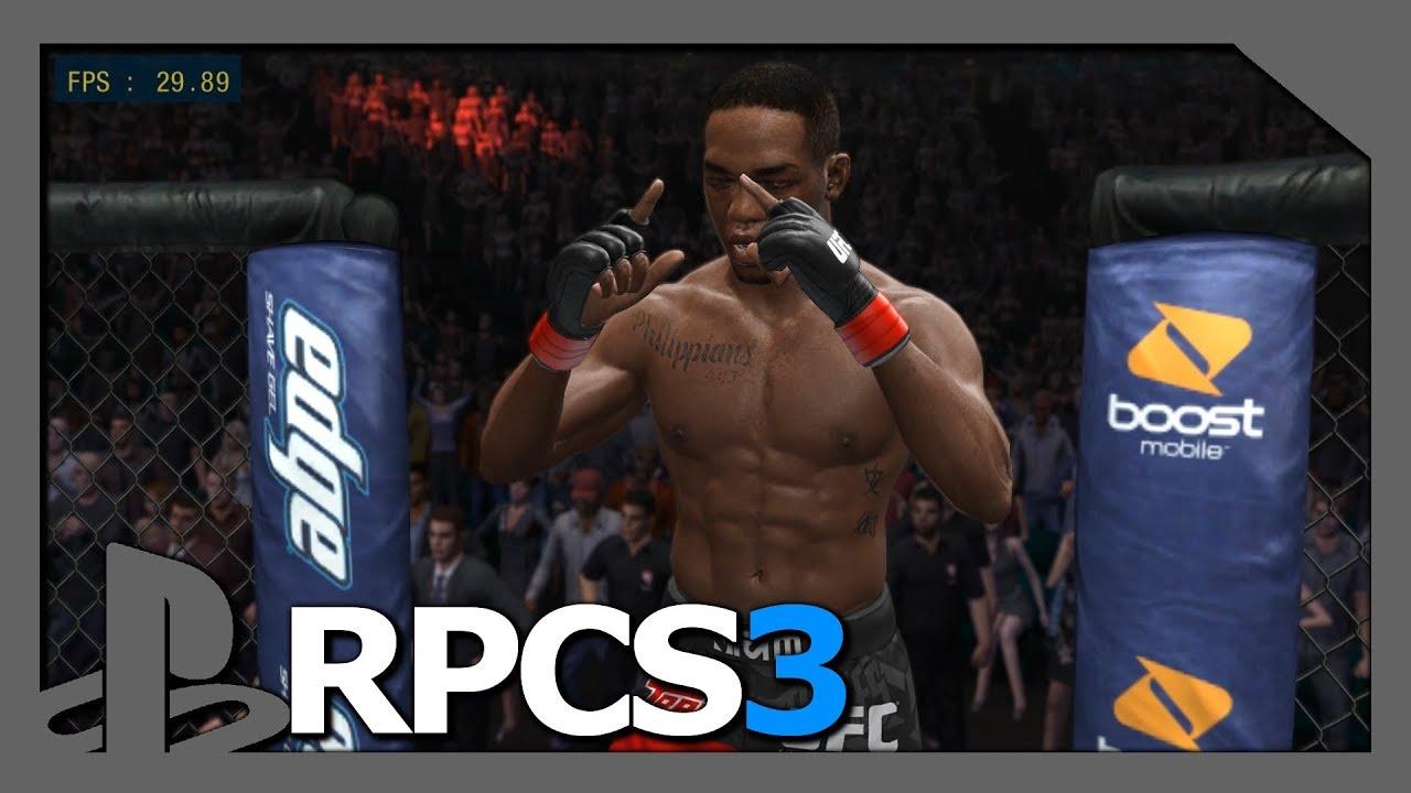 PS3 Emulator   #RPCS3 v0.0.5   LLVM-Vulkan   UFC ... Ufc Undisputed 3 Ps3 Rom