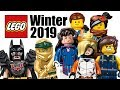 Top 20 Most Wanted LEGO Sets of Winter 2019!