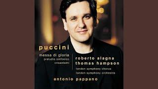 Play Mass For Tenor, Baritone, Bass, Chorus & Orchestra In A Flat Major (Messa Di Gloria)