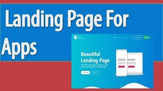 Landing Page for App 2019 | Promote Mobile Apps