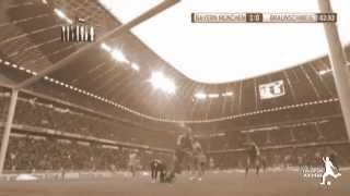 اهداف مباراة بايرن ميونخ واينتراخت براونشفيغ 2-0  30 -11 -2013الدوري الالماني   HD