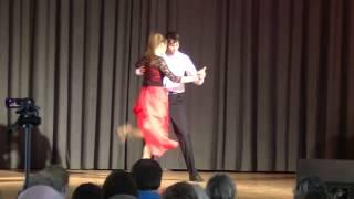 2015 04 26 Огнев и Емельянова Танго на концерте Фламенко