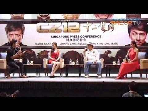 "Lin Fengjiao makes surprise cameo (Jackie Chan ""CZ12"" Pt 3)"