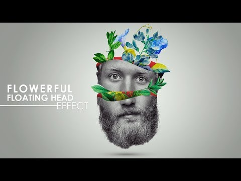 Flowerful Head Effect - Photoshop Tutorial