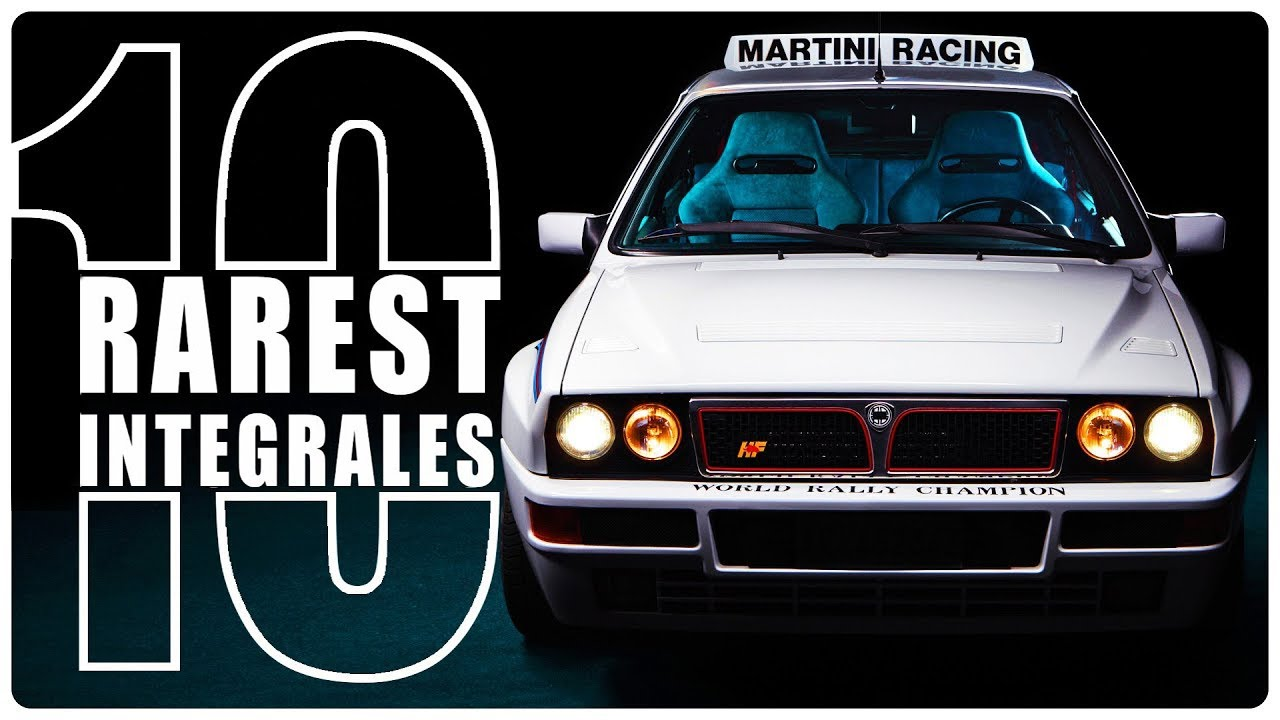 The 10 Rarest Delta Integrale variants