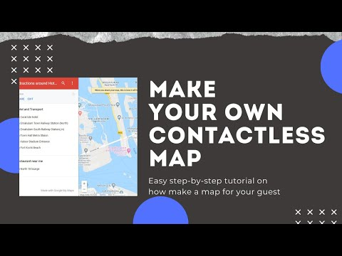 Contactless map for your Hotel Concierge