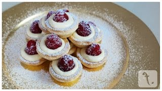 Lemon & Raspberry Tartlets | Foodpoint - Episode 1.06