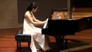Rieko Tsuchida: Mozart Sonata in F Major, K. 533/494 - I. Allegro (1/3)