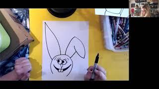 Spring Funny Bunny Video