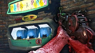 """""""BURIED"""" ALL GUNS PACK A PUNCH CHALLENGE! (Call of Duty Black Ops 2 Zombies)"""