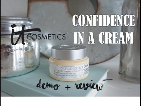 It cosmetics CONFIDENCE IN A CREAM // Review + Demo | Diana Simmons