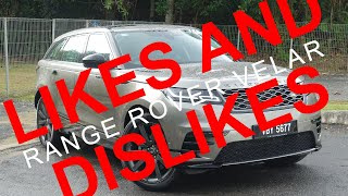 Range Rover Velar: Likes & Dislikes