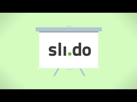 Introduction Video of Slido