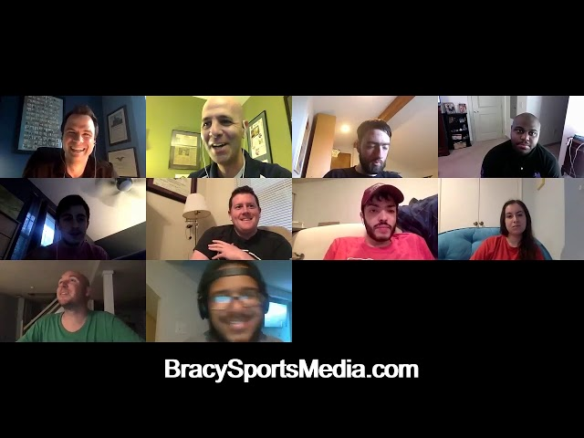 Sports broadcaster Matt Martucci is our guest on Bracy Sports Media Live Zoom Q&A on 5/28/20