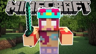 THE BLOCKING DEAD!   MINECRAFT MINI GAME!   Amy Lee33