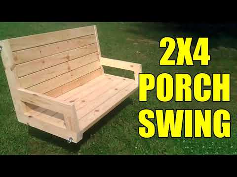 Wooden Porch Bench Plans