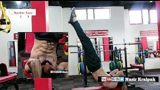 Nasir Kraipak   Biceps and Triceps   Full Workout in Pulse Gym