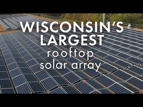 Largest rooftop solar project in WI - American Family Insurance