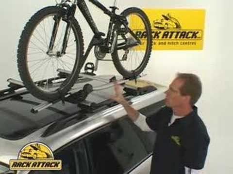 Thule 598 Criterium Demonstrated By Rack Attack Youtube