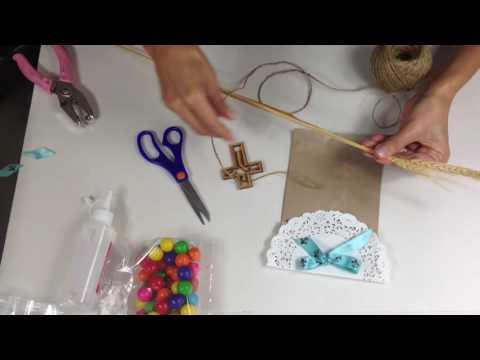 Bolsas de papel decoradas parte 1 youtube - Como decorar bolsas de papel ...